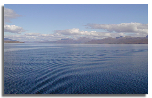 Ferry Mallaig-Skye sept 2003