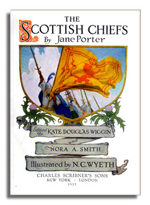 The Scottish Chiefs - Jane Porter - Frontispice